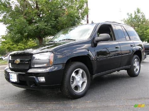 2008 Black Chevrolet Trailblazer Lt #33802052
