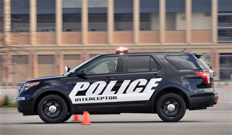 2018 Ford Police Interceptor Utility Vehicle Hd Pictures
