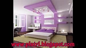 beautiful faux plafond pour chambre a coucher gallery With plafond chambre a coucher