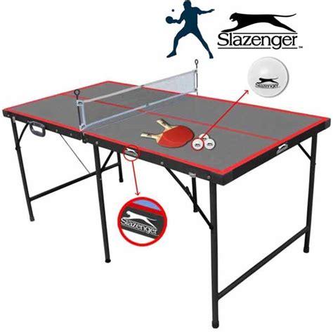 misura tavolo ping pong tavolo pieghevole da ping pong rete palline racchette