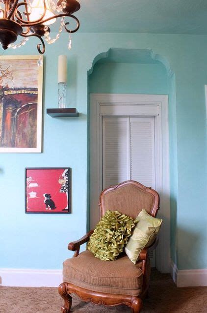 spotted valspar paint in aqua glow 5007 9b a breezy color for a light filled room spotted