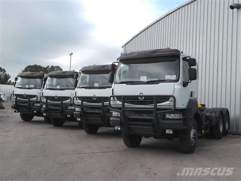 renault kerax used renault kerax 440 dxi 6x6 tractor units for sale
