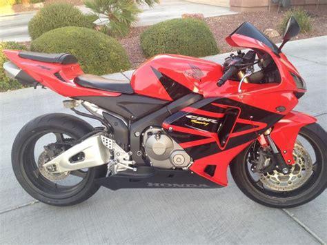 honda 600rr for sale 2006 honda cbr 600rr sportbike for sale on 2040 motos