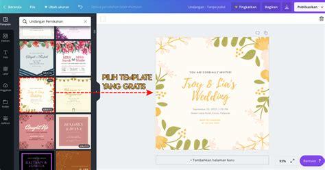 mudah desain undangan pernikahan pakai aplikasi canva
