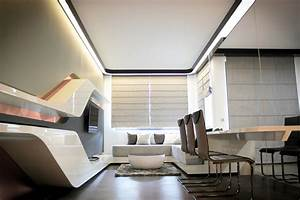 futuristic home interior Archives - DigsDigs