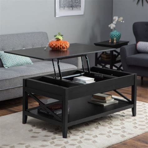 You might even want to style it like you would a work of art. Belham Living Hampton Lift Top Coffee Table - Black ...