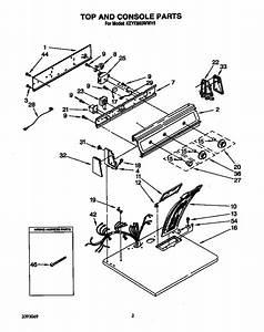 30 Kitchenaid Dryer Parts Diagram