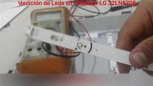 Forma Pr U00e1ctica De Medir Y Probar Leds En Barra O Regleta De Tv Televisor Lg 32ln570b