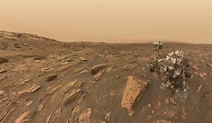 Mars Curiosity rover snaps selfie photo during dust storm ...