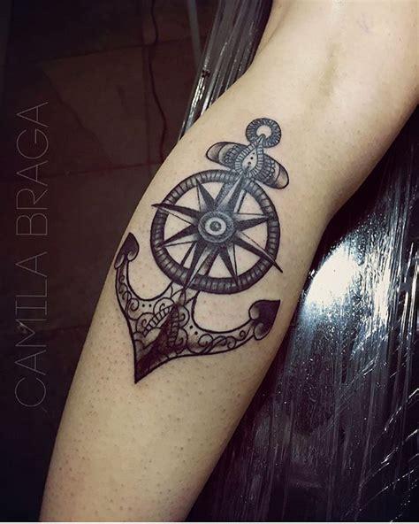 tatouage ancre marine 1001 id 233 es tatouage des vents cap sur un