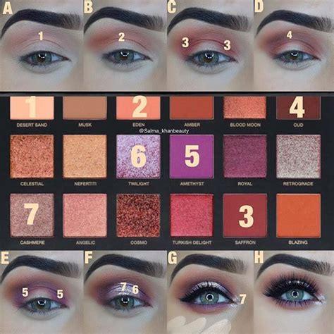 eyeliner auftragen für anfänger die besten 25 huda eyeshadow ideen auf goldene lidschatten palette