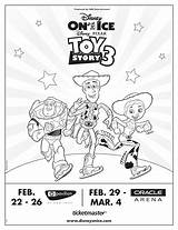 Coloring Toy Ice Disney Sheet Presents Pixar Tickets Pack Dowload Select Below sketch template