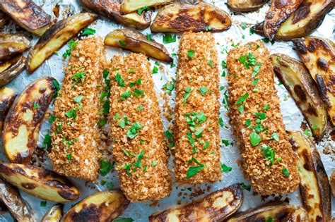 morocan cuisine sheet pan fish and chips recipe simplyrecipes com