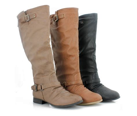 Womens Riding Boots! Fall 2013 Knee High Stylish Slouch W