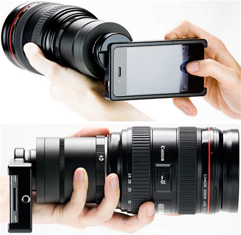 lens for iphone iphone 4 slr lens mount ohgizmo