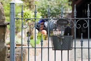 Gartenzaun Aus Metall : gartenzaun aus metall verzinkt eleo ~ Orissabook.com Haus und Dekorationen