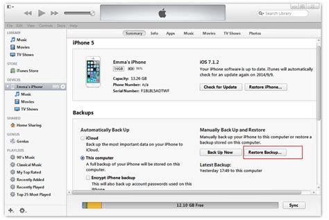 itunes iphone restore hur 246 verf 246 ra filer fr 229 n iphone 5 till iphone 6 plus 7