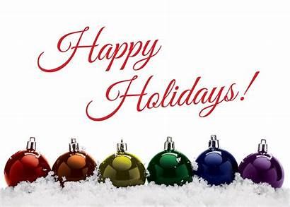 Holiday Happy Balls Rainbow Ornaments