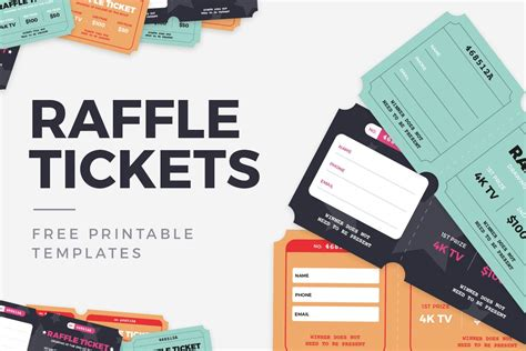 raffle ticket templates medialoot
