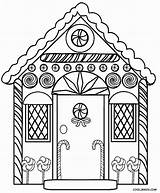 Gingerbread Christmas Clipart Coloring Pages Detailed Clipground sketch template
