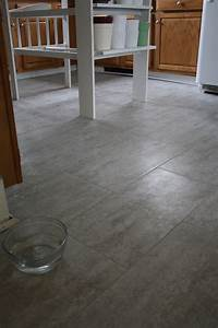 how to tile a kitchen floor Tips For Installing A Kitchen Vinyl Tile Floor | merrypad