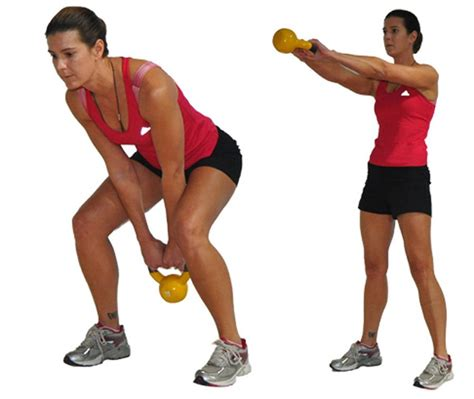 kettlebell workout swing fun arm exercise cardio pick exercises swings strength raccogli allenamento tuo body two weight paige waehner hold