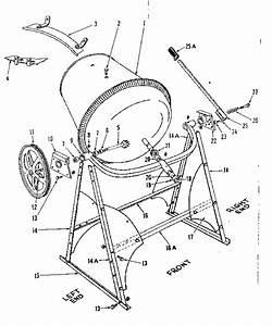 Craftsman Homart Utility Mixers Parts