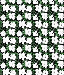 Andy Warhol : Flowers Wall Paper | Art Markit