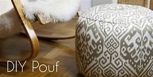 Sitzkissen Selber Machen : diy pouf stylishes und superpraktisches sitzkissen handmade kultur ~ Frokenaadalensverden.com Haus und Dekorationen