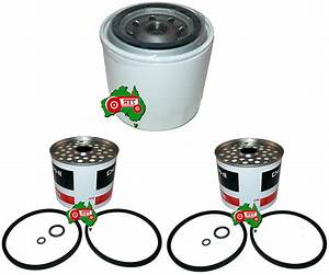 Fuel Oil Filter Kit Case David Brown Tractor 1190 1290