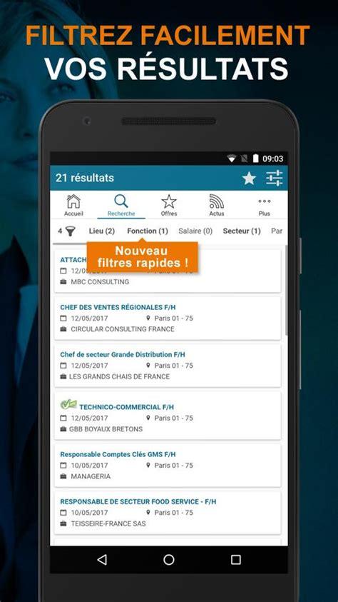 offre d emploi cadres apec offres d emploi cadre applications android sur play