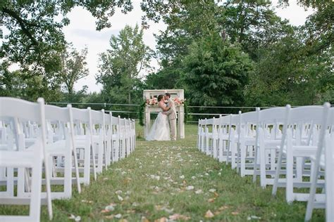 Romantic Summer Wedding At Washington