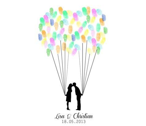 wedding tree ballons fingerabdruecke als gaestebuch