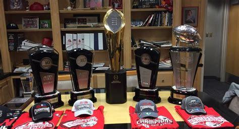 photo ohio states  trophy haul  insane eleven