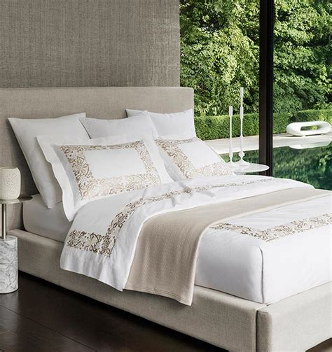 modern bedding collections sferra modern saxon bedding collection kathy kuo home