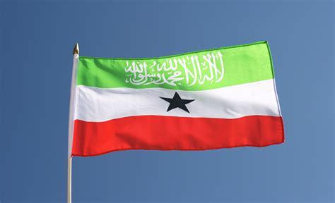 Somaliland Hand Waving Flag