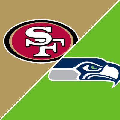 ers  seahawks game recap january   espn