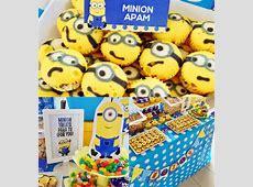 #minion theme party #minions Dessert Table & Candy Bar