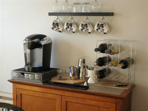 Home Bar Station by Keurig Minus The Wine Bar Part For The Home Home Bar
