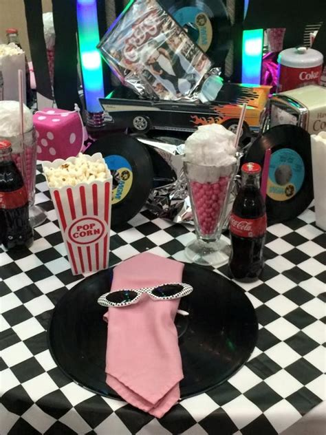 24 Best Images About Grease On Pinterest Centerpieces