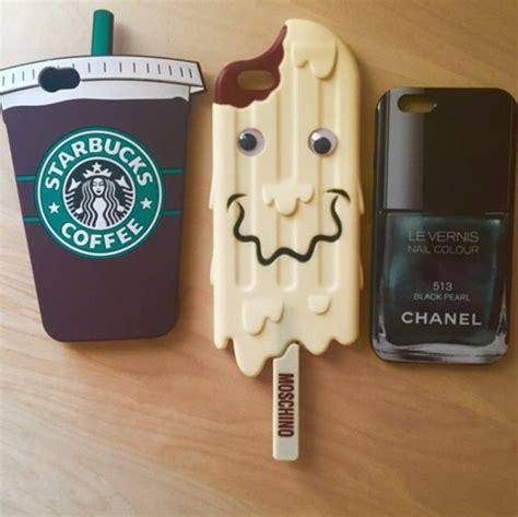 starbucks coffee rubber phone