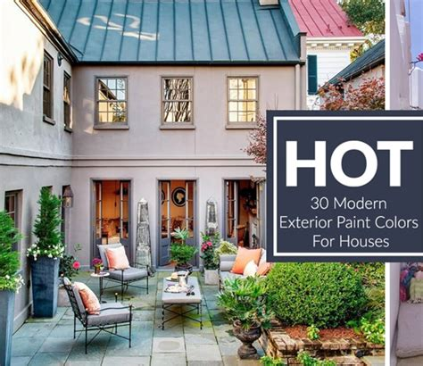 modern exterior paint colors for houses style designs