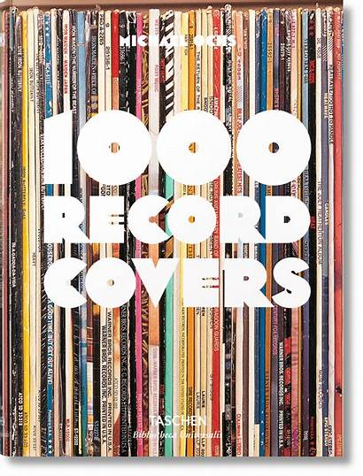 Covers Record 1000 Taschen Books Vinyl