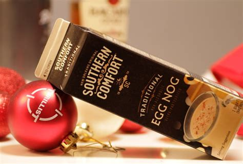 southern comfort eggnog the best eggnogs this winter southern comfort and