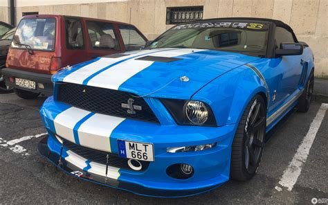 ford mustang stage  ap racing shelby gt convertible
