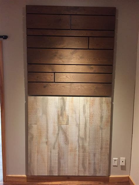 Wide Plank Hardwood   Feature Walls