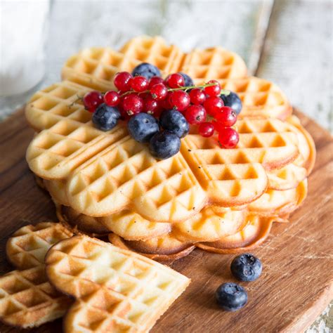 waffel grundrezept backen