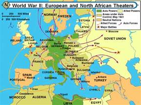 World War 2 Europe Map