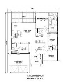 Adobe Homes Plans Adobe Southwestern Style House Plan 3 Beds 2 Baths 2142 Sq Ft Plan 116 296