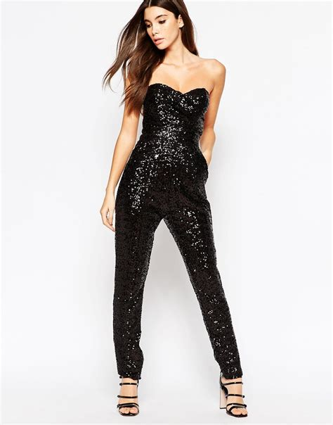 sparkle jumpsuit shows a perkier rear but is it just